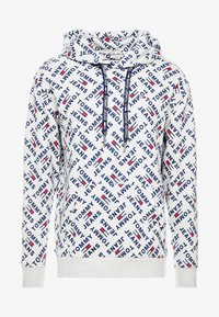 Tommy Jeans - ALLOVER HOODIE - Sweat à capuche - light grey heather - 5