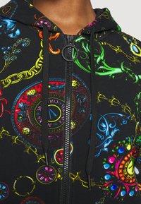 Versace Jeans Couture - Zip-up sweatshirt - black/multi - 8