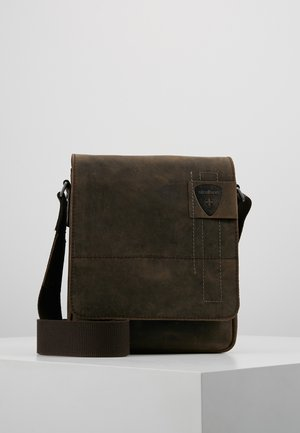 RICHMOND SHOULDERBAG - Schoudertas - dark brown