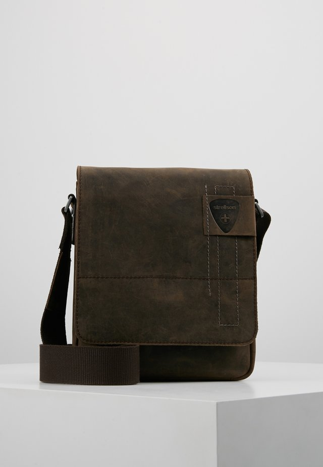 RICHMOND SHOULDERBAG - Across body bag - dark brown