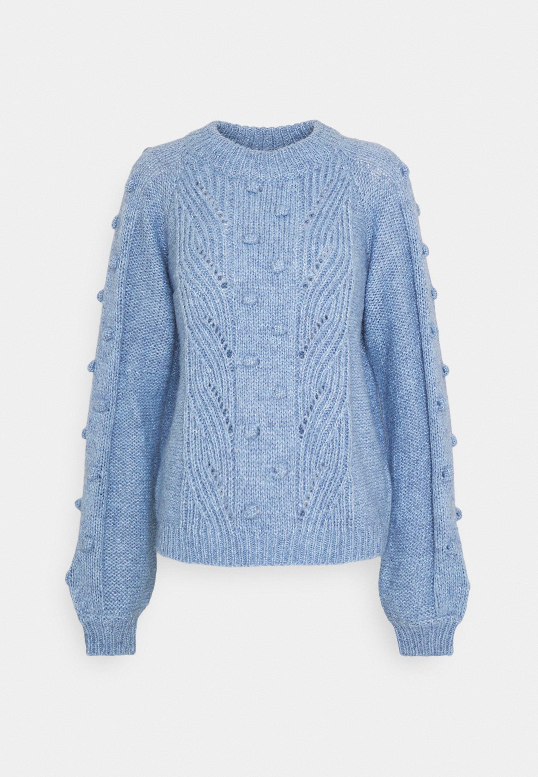 ENSULLIVAN Stickad tröja lavender