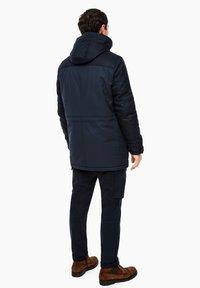 s.Oliver - IM FABRIC MIX - Winter coat - dark blue - 2