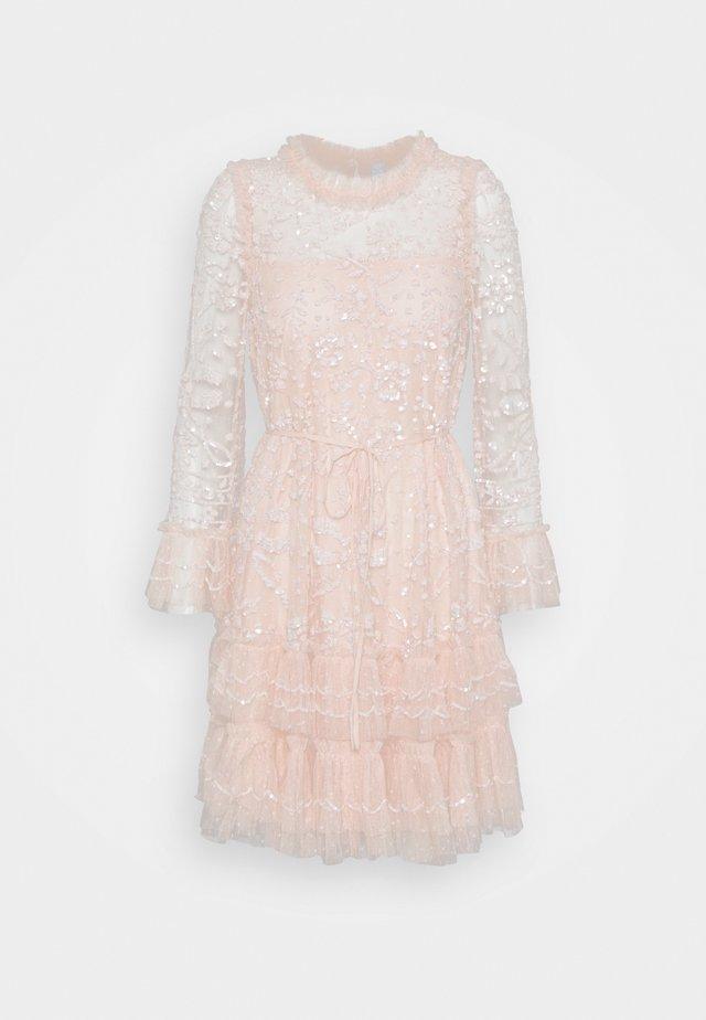 CELIA LONG SLEEVE MINI DRESS - Cocktail dress / Party dress - strawberry icing
