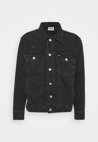TRUCKER JACKET UNISEX - Veste en jean - save black