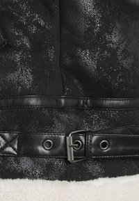 Sixth June - REGULAR AVIATOR JACKET - Faux leather jacket - black - 2