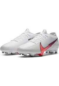Nike Performance - MERCURIAL VAPOR  - Moulded stud football boots - white / flash crimson / photon dust - 2