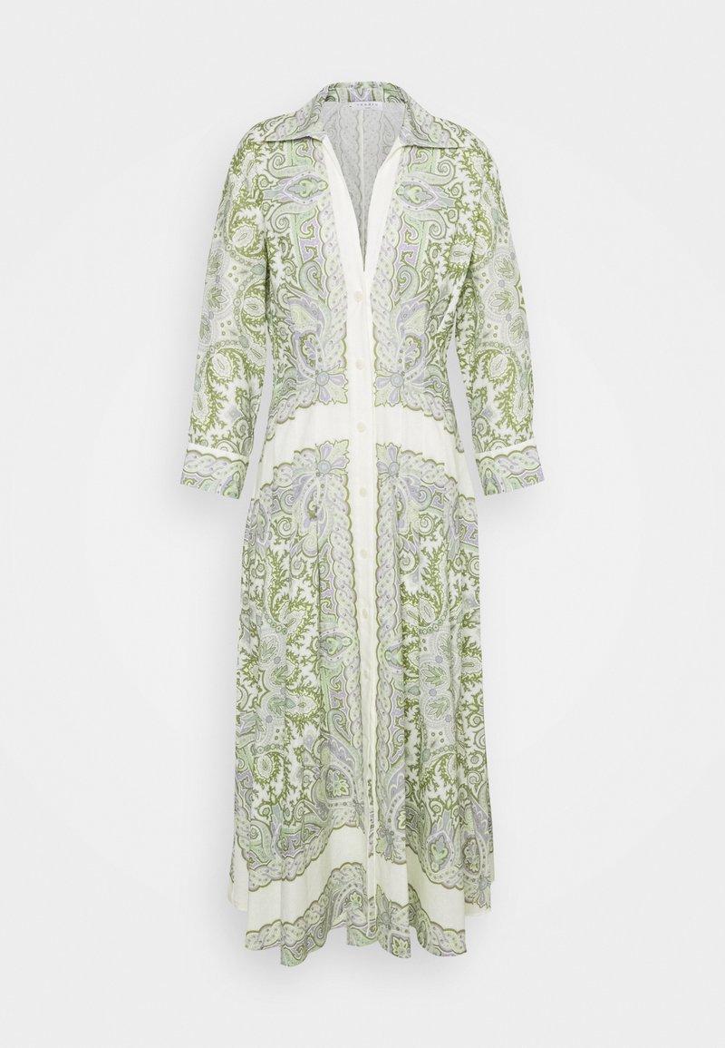 sandro - Maxi dress - ecru/parme