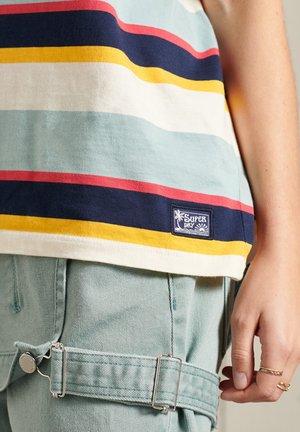 Camiseta estampada - forever blue stripe