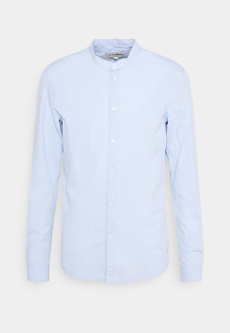 TOM TAILOR DENIM - MINI STRUCTURE - Shirt - light blue