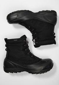 The North Face - M TSUMORU BOOT - Snowboots  - black/dark - 1