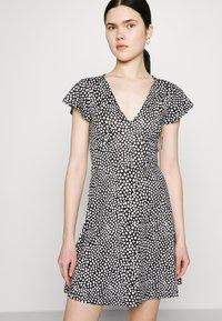 Even&Odd - Jersey dress - black/white - 0