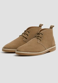 PULL&BEAR - Lace-ups - brown - 2