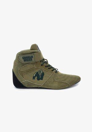 Sneakers hoog - dark green