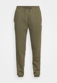 IDENTITY - Teplákové kalhoty - army green