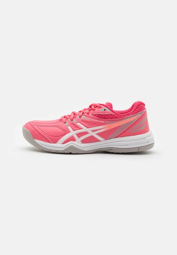 COURT SLIDE - Multicourt tennis shoes - pink cameo/white