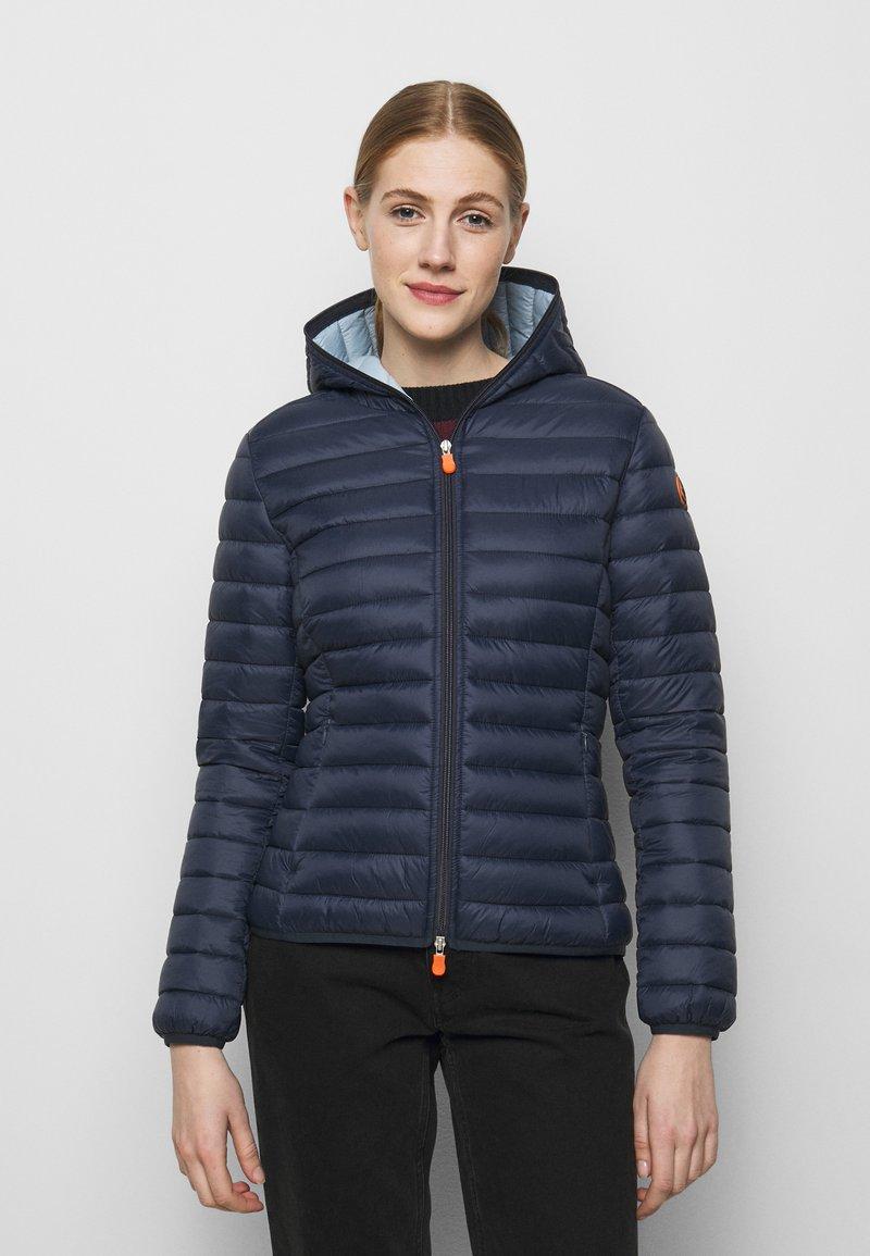 Save the duck - DAISY HOODED JACKET - Winter jacket - navy blue