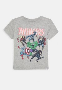 GAP - TODDLER BOY HERO GRAPHICS - T-shirt print - light heather grey - 0