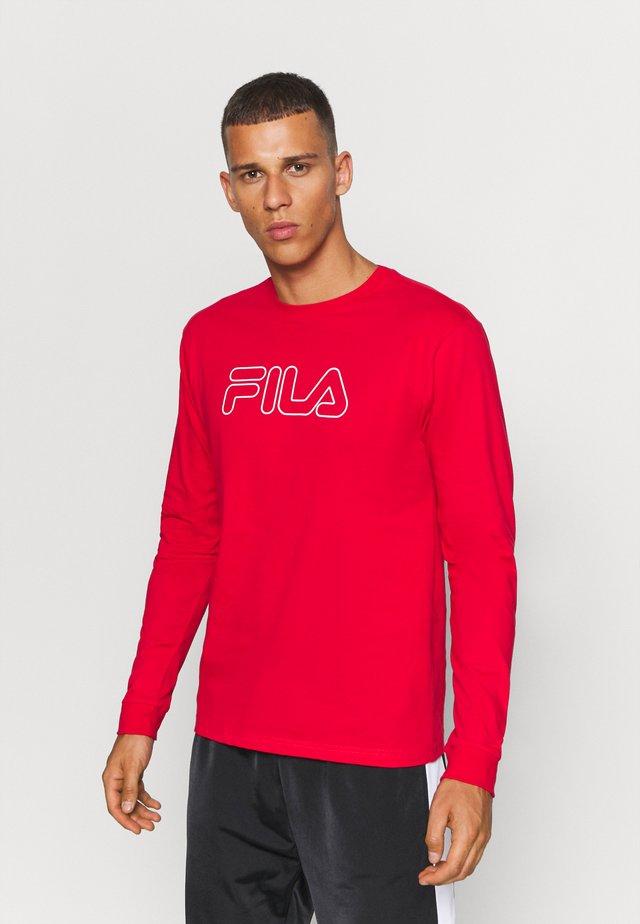 LAURUS LONGSLEEVE - Maglietta a manica lunga - true red