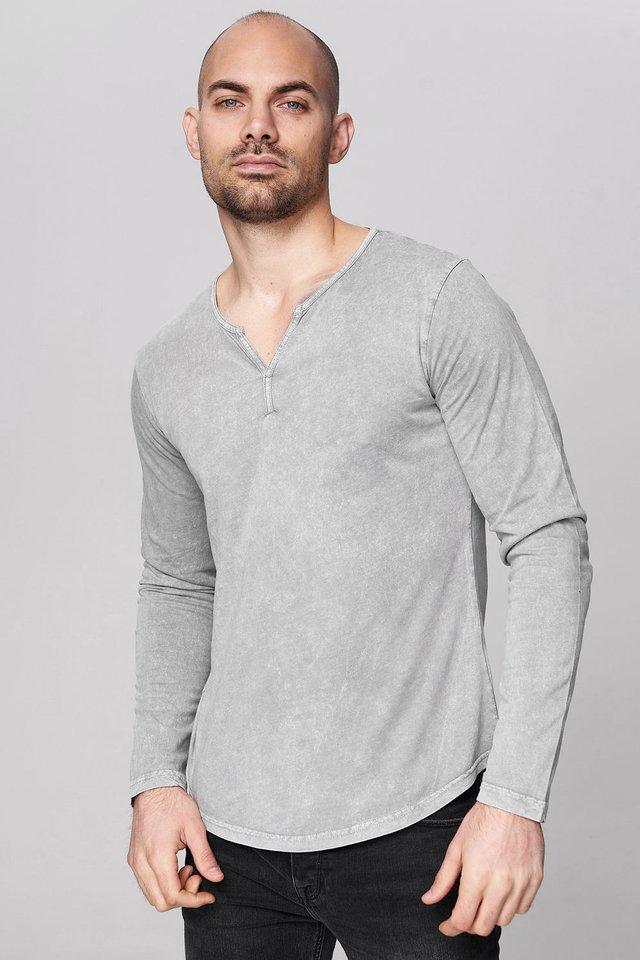 MASKULINEM  - Long sleeved top - dark gray