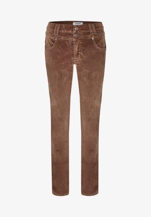 Jeans Skinny Fit - hellbraun