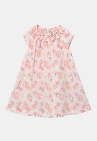 Petit Bateau - ROBE - Shirt dress - marshmallow/multicolor - 0