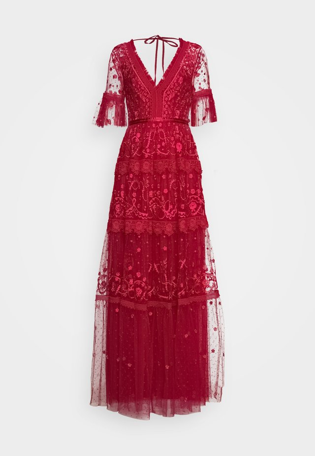 MIDSUMMER GOWN EXCLUSIVE - Vestido de fiesta - deep red