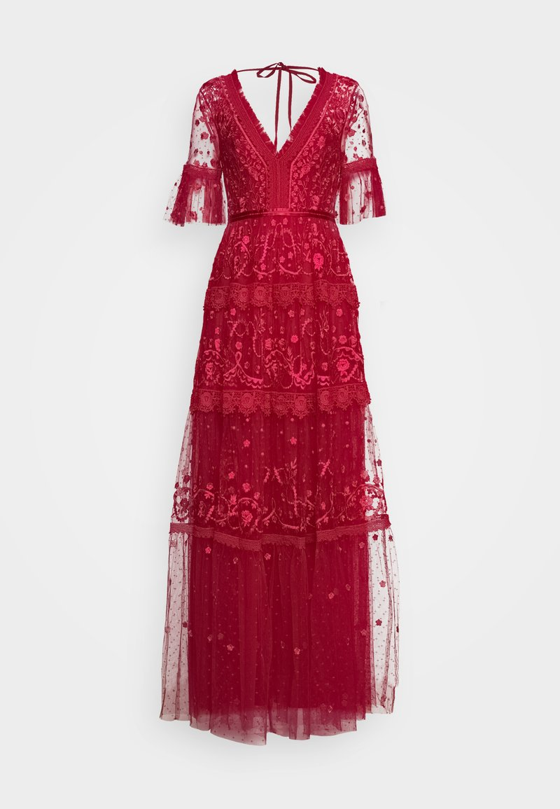 Needle & Thread - MIDSUMMER GOWN EXCLUSIVE - Occasion wear - deep red
