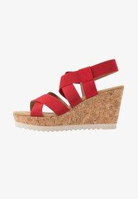 Gabor - High heeled sandals - flame - 1