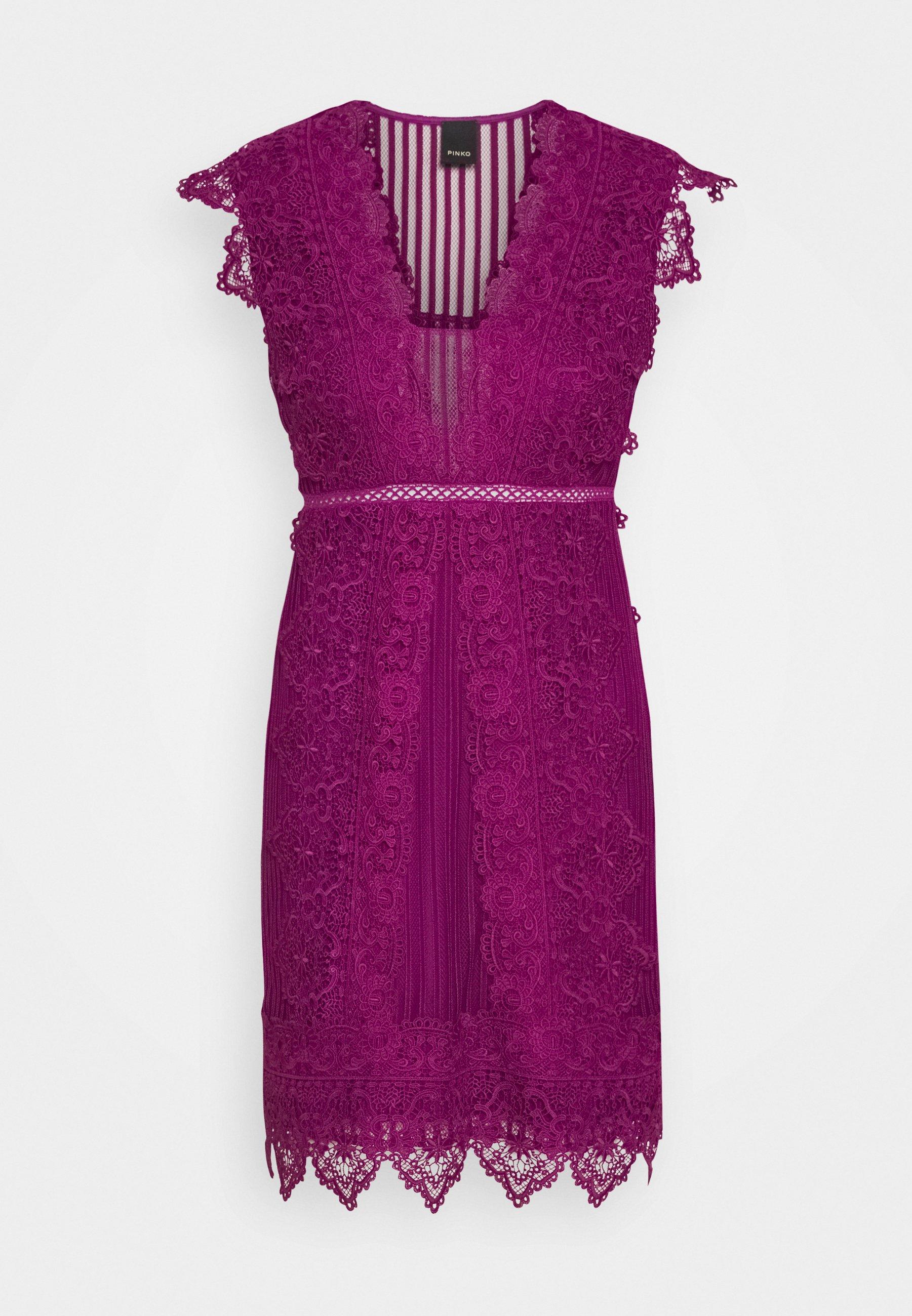 ERIBERTO DRESS - Cocktailkleid/festliches Kleid - fuchsia