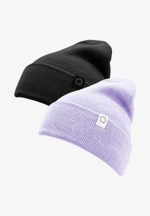 2 PACK - Czapka - mottled purple