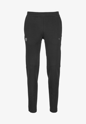 PUMA SCUDERIA FERRARI KNITTED MEN'S SWEATPANTS MAN - Træningsbukser - puma black