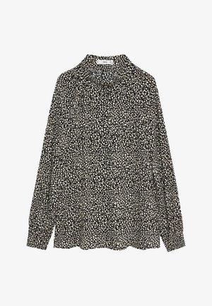 PEACH - Button-down blouse - blanc cassé