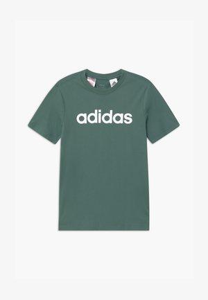 LIN UNISEX - Print T-shirt - teceme/white
