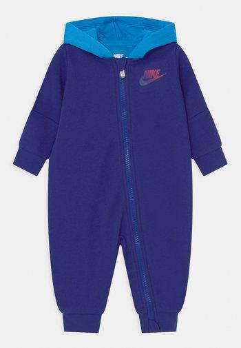 RISE HOODED UNISEX - Tuta jumpsuit - deep royal blue