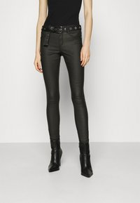 ONLY - ONLROYAL LIFE ROCK - Jeans Skinny Fit - black - 0