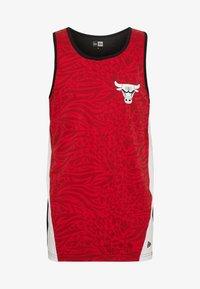 New Era - NBA TANK CHICAGO BULLS - Club wear - red - 4