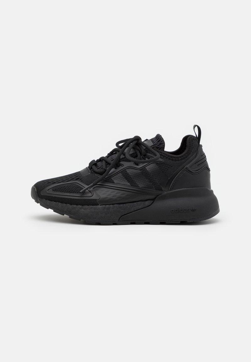 adidas Originals - ZX 2K BOOST UNISEX - Zapatillas - core black/shock pink