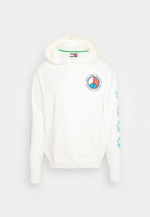 LUV THE WORLD HOODIE - Sweatshirt - ivory petal