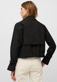 Marc O'Polo - MIT WASSERABWEISENDER OBERFLÄCH - Outdoor jacket - black - 2