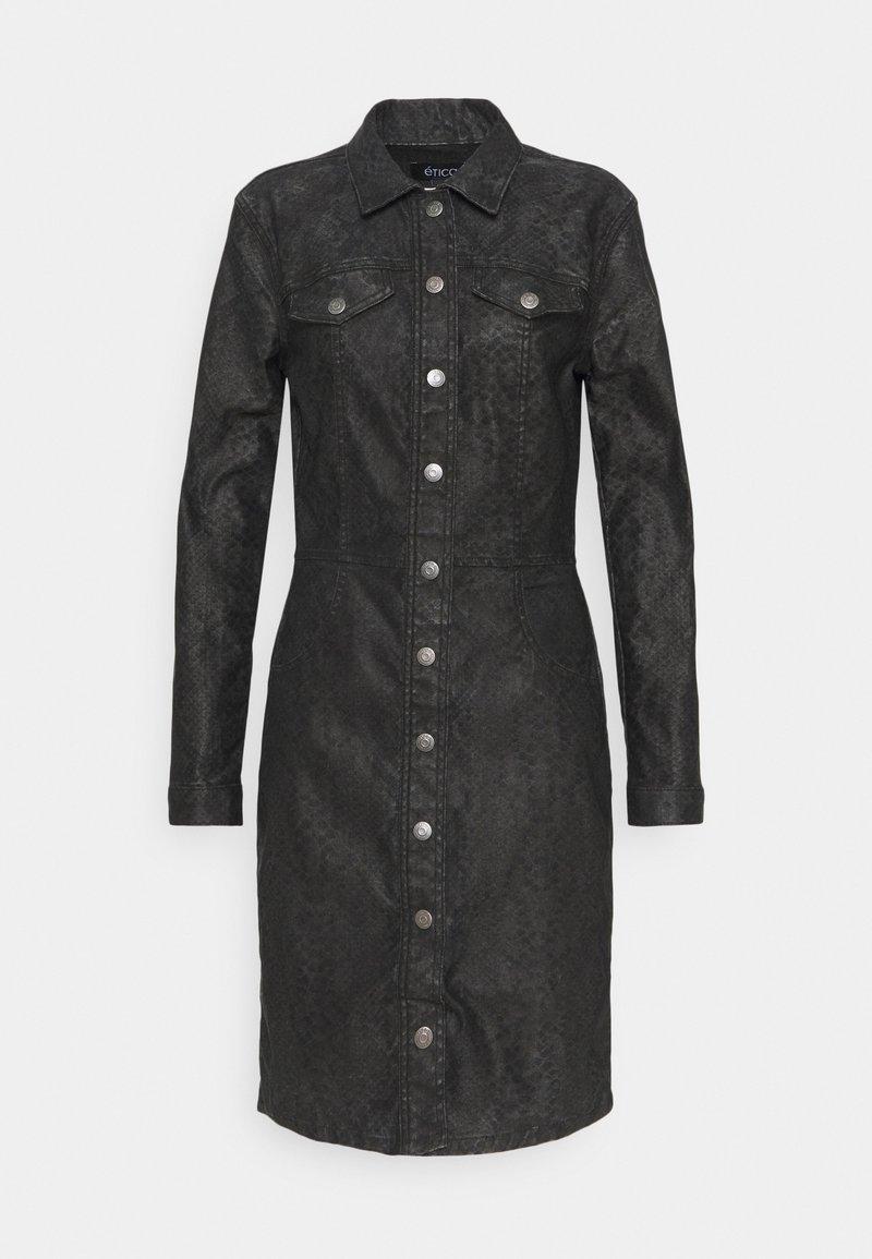 Ética - JORDYN - Denim dress - black