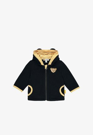 MIT KAPUZE - Fleece jacket - steiff navy