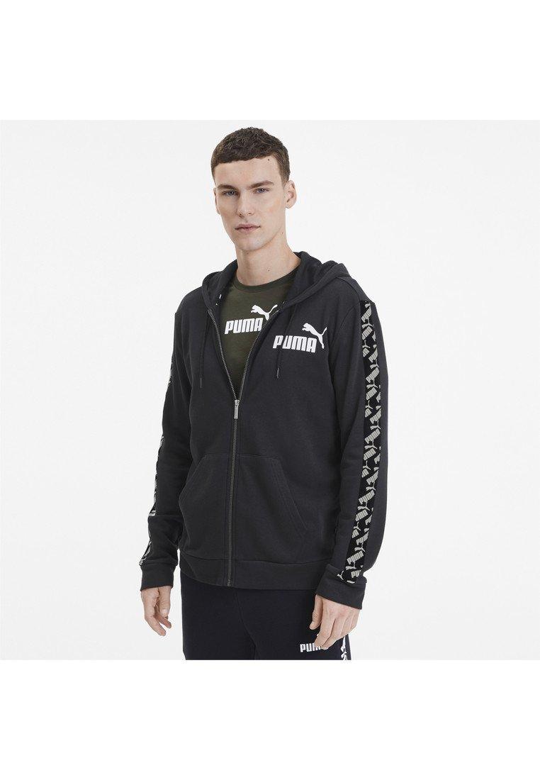 Puma - AMPLIFIED  - Zip-up hoodie - black