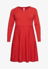 Sheego - Jumper dress - rot - 4