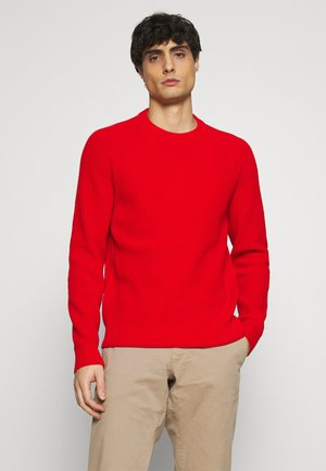CREW NECK - Jumper - brick