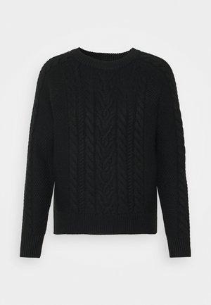 VMPRIYA ONECK BLOUSE - Pullover - black