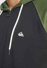 Quiksilver - EVERYDAY ZIP - Zip-up sweatshirt - tarmac - 5