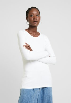 CREW - Long sleeved top - optic white