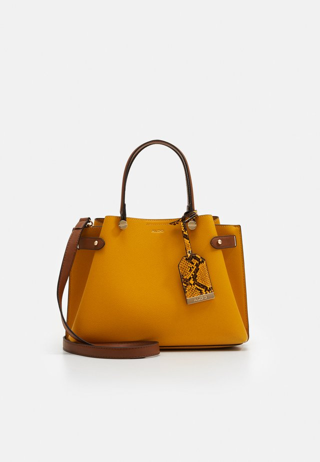 GLAMM - Handbag - dark yellow
