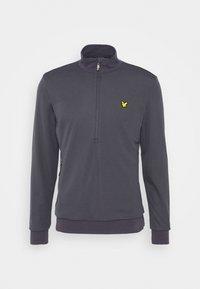 Lyle & Scott - WINDSHIELD 1/2 ZIP MIDLAYER - Sweatshirt - observer grey - 3