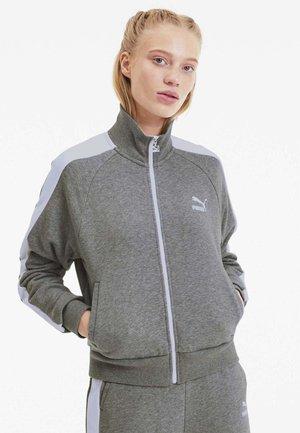 CLASSICS T7 - Training jacket - medium gray heather